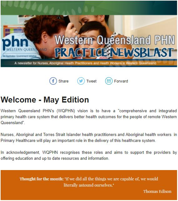 Practice News Blast - May