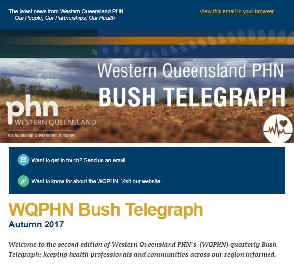Bush Telegraph - Autumn 2017