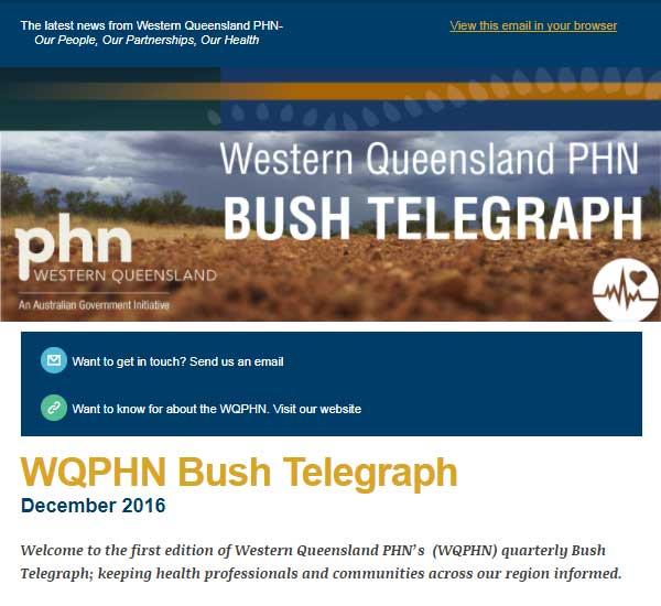 Bush Telegraph - December 2016
