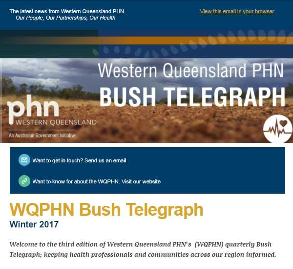 Bush Telegraph - Winter 2017
