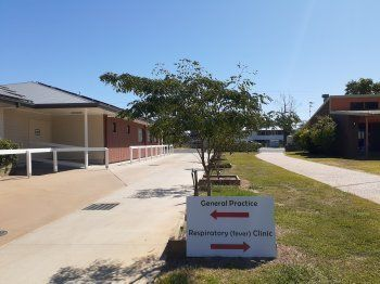 COVID Respiratory Clinic St George Western Qld